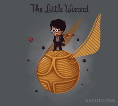 The Little Wizard by Naolito