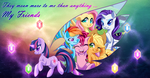 They mean more to me than anything...My friends-BG by G-Blue16