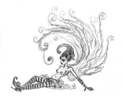 Wee Fairy Sketch by TimBakerFX