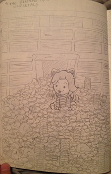 The Binding of Undertale - Temmie by MuzYoshi