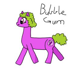 Bubble Gum Updated by Errand-Girl