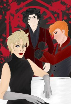 The first order is painted in blood by kn1978