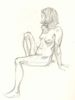 Life Drawing 006 by OddKitty