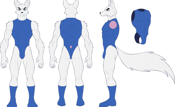 Streak II (Reference Sheet) by Sansenite