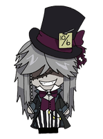 Black Butler - The Undertaker by CandyAddict774