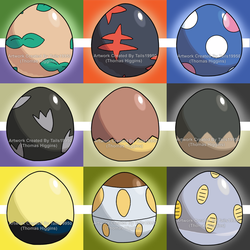 Alolan Pokemon Eggs - Part 1 by Tails19950