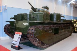 Tank A1E1 Independent by Daniel-Wales-Images