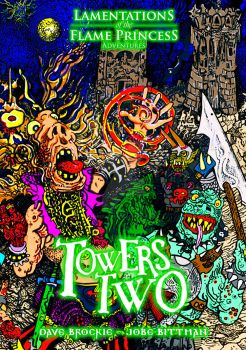 Towers Two cover by PenetraliaPress