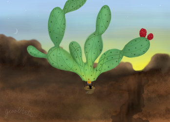 Prickly hot air - muro contest entry - by JCoolArts