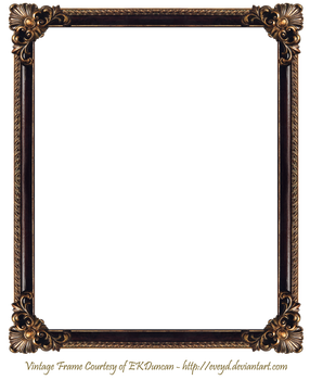 Elaborate Wood Frame 3 by EKDuncan by EveyD