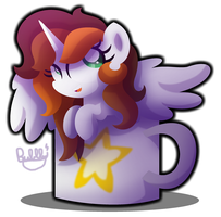 Behold the Cofficorn by Bubbly-Storm
