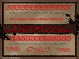 Celtic Border Brushes by nathies-stock