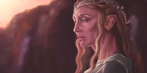 Galadriel Lady of Light by DiscoveringArtWorld