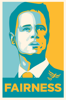 Nick Clegg - Fairness by ross-stalker