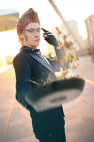 Ignis Scientia Cosplay [Cooking!] Final Fantasy XV by Yamato-Leaphere
