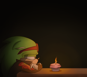Another Year Gone by AJ-illustrated