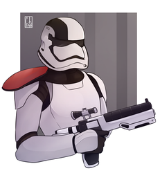 [Commission] - First Order Stormtrooper by Chyche