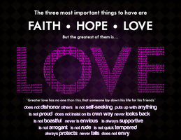 Faith Hope LOVE by frozenear