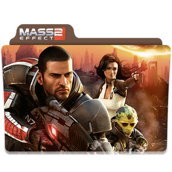 Mass Effect 2 Folder/Icon by Lezya