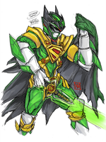 Ultimate Green Justice Ranger by bulletproofturtleman