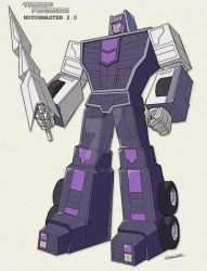 Combiner Wars Motormaster - sunbow style by GuidoGuidi