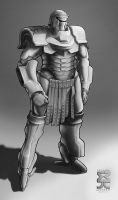 Spearpoint: Roman Power Armor by Legato895