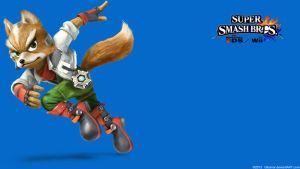 Fox 2 |Wallpaper| Super Smash Bros. Wii U/3DS by Gibarrar