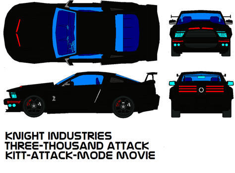 K.i.t.t. attack mode by bagera3005