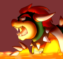 Bowser by BaconBloodFire