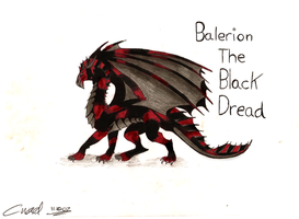 Balerion The Black Dread by PunkAsFcuk82