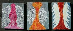 Three Angels by rosswright