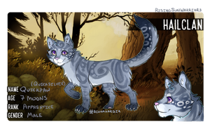[RSW App] Warriors - Quicksilver (-paw) by Biohazardia