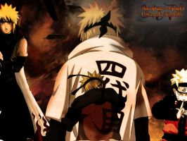 Dad and Son: Yondaime x Naruto by lonelydeath