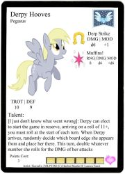 Derpy Hooves Profile Card by Ponyfiguregame
