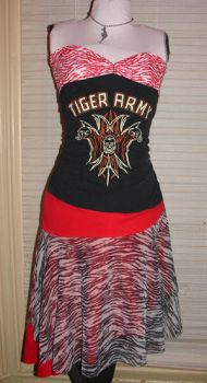 tiger army dress by smarmy-clothes