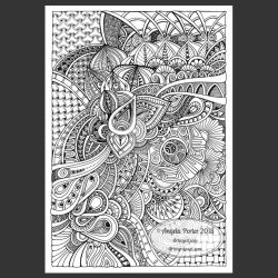 WIP Abstract Entangled Art 21 November 2018 by Artwyrd