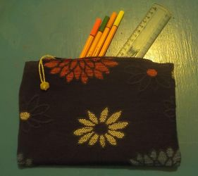 Ready for school - Pencil case by AloiInTheSky