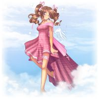 Walking on Clouds by Louistrations