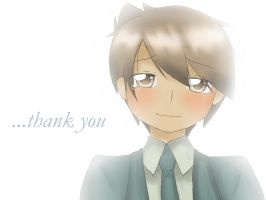 ...thank you by chibifox1