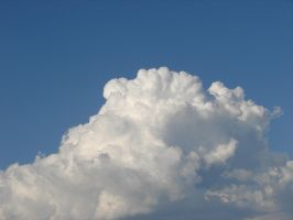 Wild Blue Yonder Sky Clouds 26 by FantasyStock