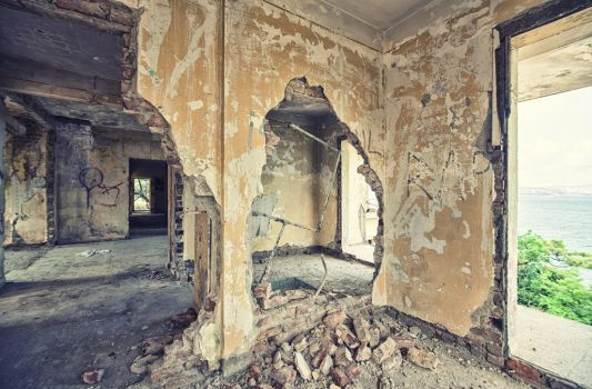 Broken Walls And A Baloon by Dredged