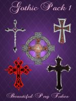 Gothic pack png by kayshalady