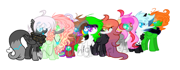 MLP We're Pegasi bitches by Wishing-Well-Artist