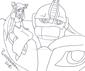 Miko and Bulkhead-Best Buddies-requested by Peaceblossom262
