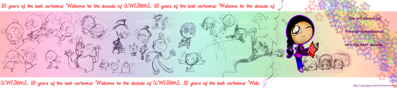 The Decade of AWESOME by cappy-code