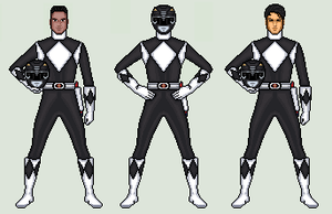 Black Ranger - Mighty Morphin Power Rangers by vandersonmetal