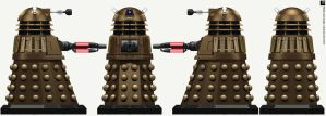 Time War Temporal Weapons Dalek by Librarian-bot