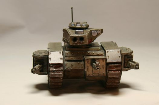 Leman Russ Exterminator with Heavy Bolters by Kamui-CT