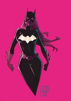 Batgirl Fluo by franganesques