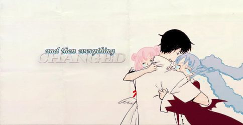 And Then Everything Changed by lost--panda